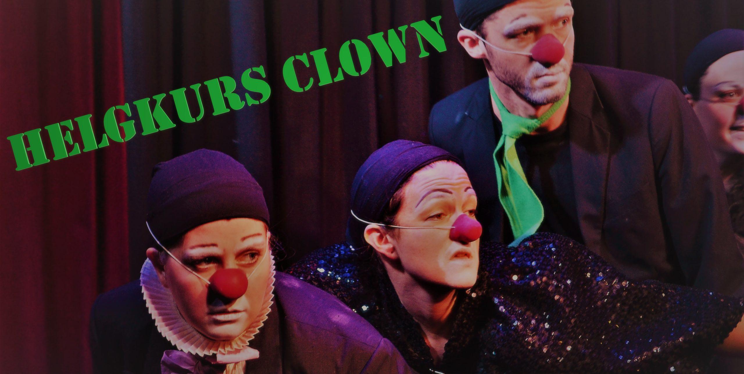 helgkurs CLown